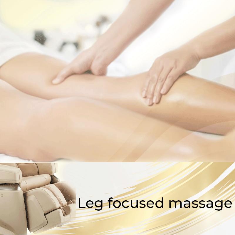 Leg focused massage