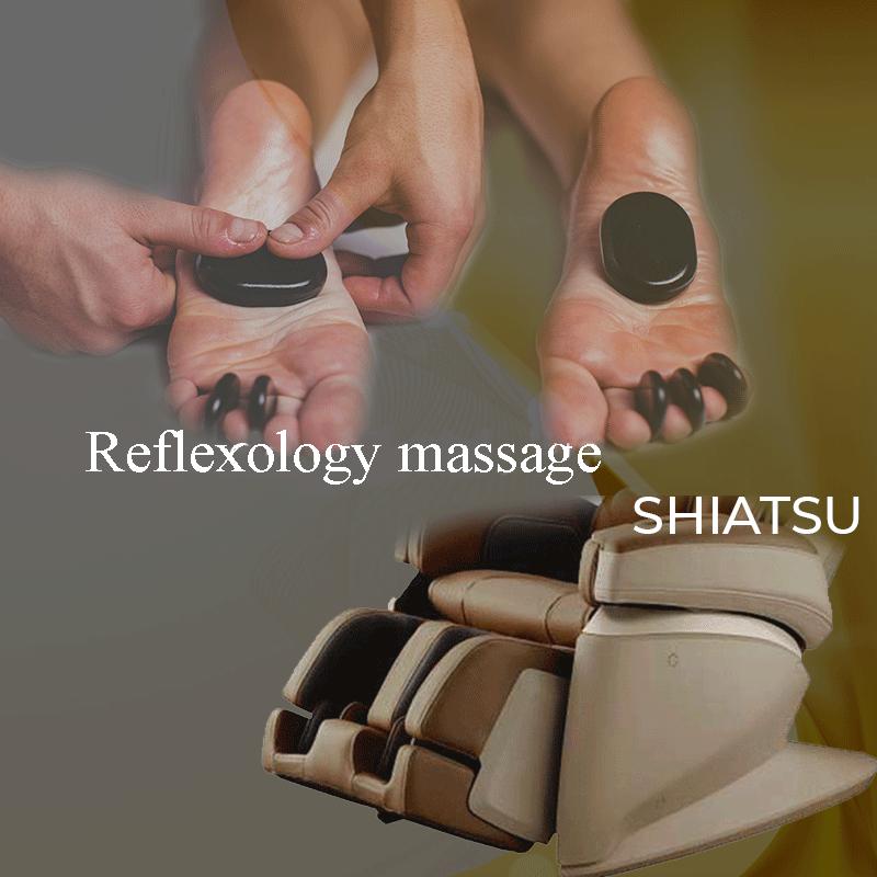 SHIATSU reflexology massage
