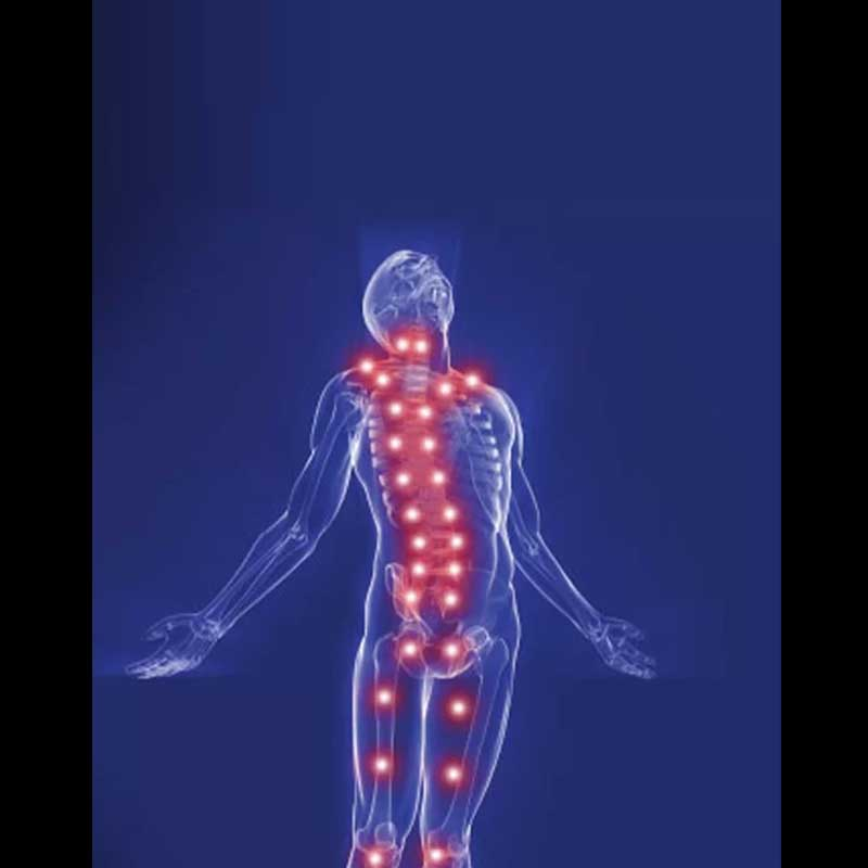 Detect shiatsu points throughout the body and understand effective massage points