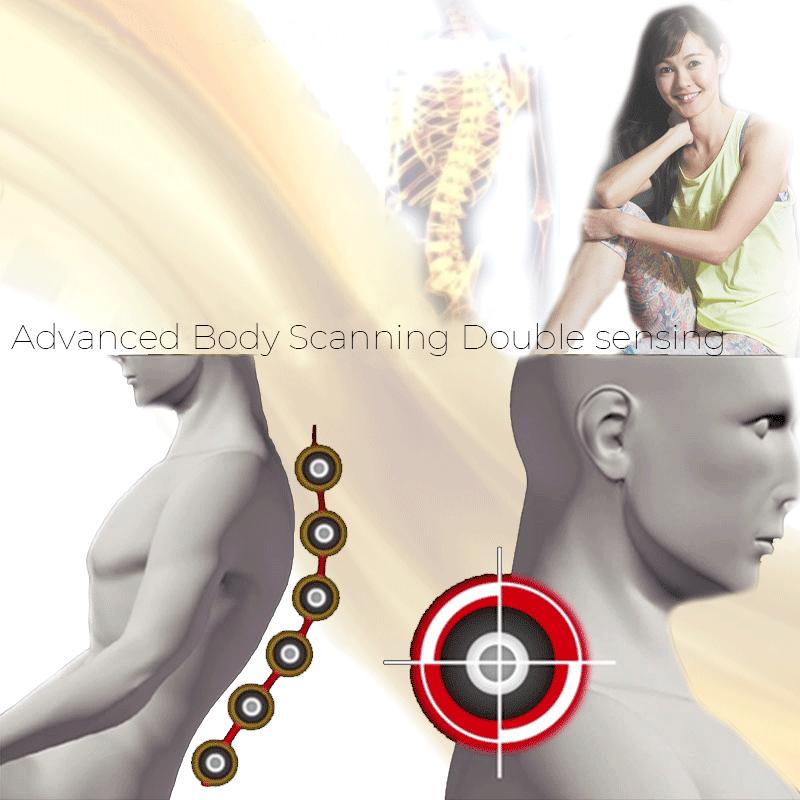Advanced Body Scanning Double sensing