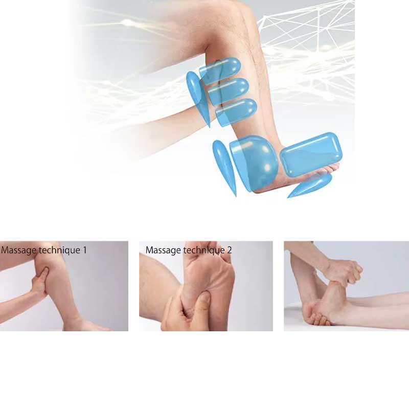 Personalized foot massage