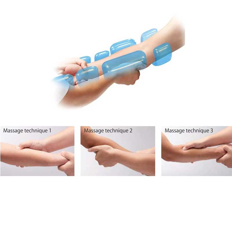 Personalized hand massage